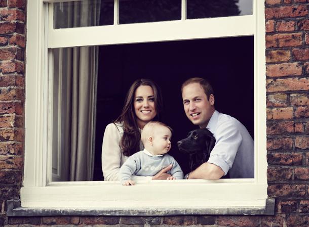 Семейный портрет Кембриджи