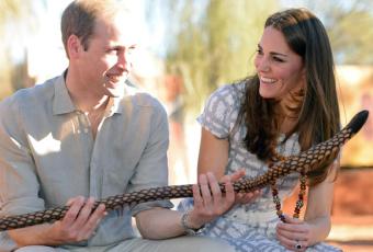 Кейт Миддлтон и принц Уильям - путешествие в Австралию