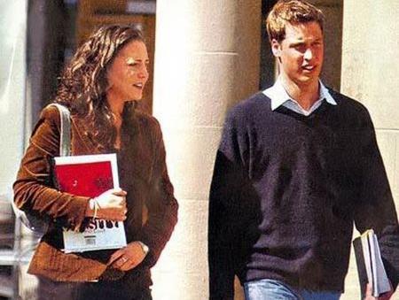 Кейт и Уильям в университете