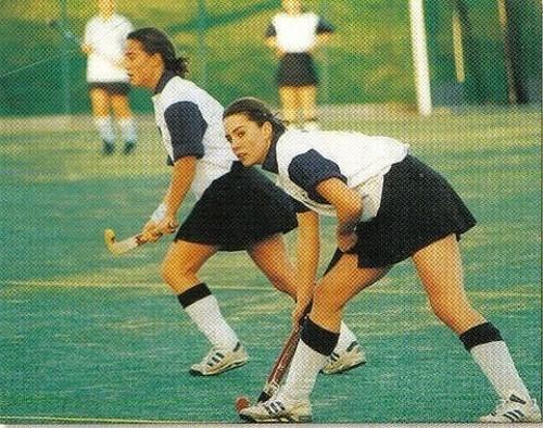 Кейт Миддлтон играет в хоккей