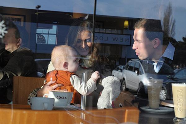 Кэтрин и Уильям - заботливые родители