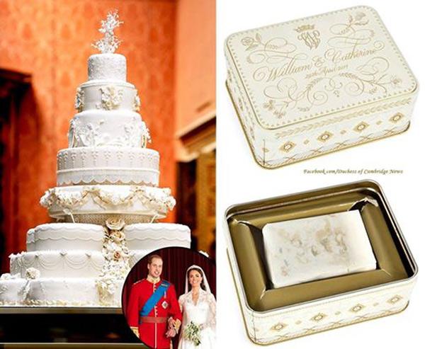 Свадебный торт Кейт и Уильяма