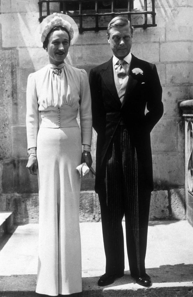 Свадьба Эдуард VIII и Уоллис Симпсон