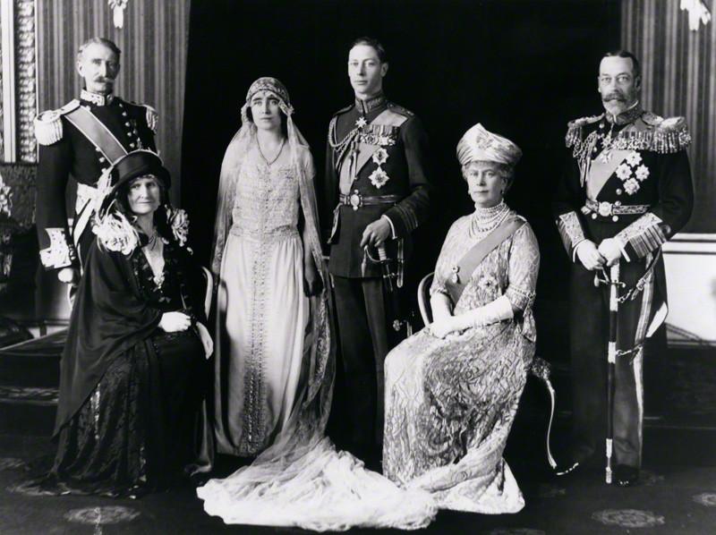 Свадьба Георга VI и Королевы Елизаветы