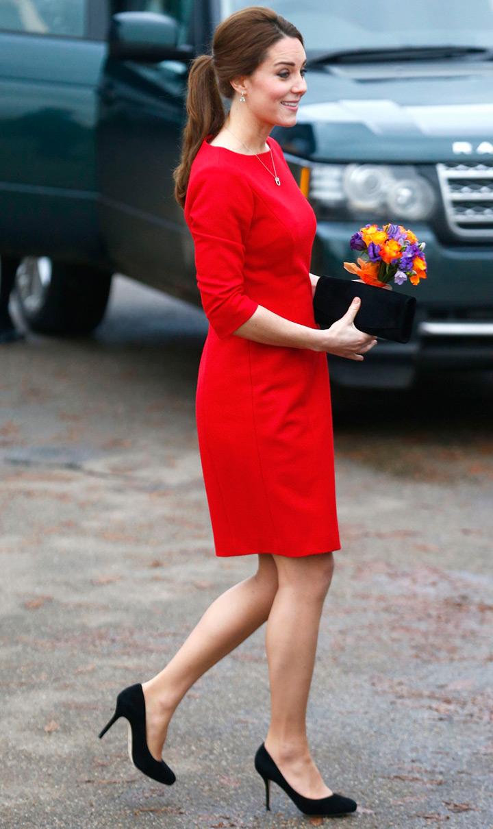 Кейт Миддлтон посетила детский хоспис в Норфолке