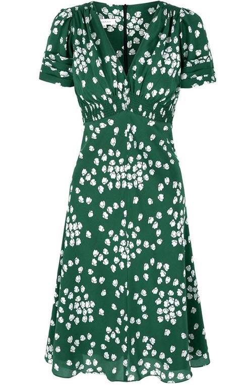 Платье Кейт Миддлтон в цветочек за 800 долларов.