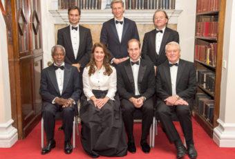 Принц Уильям на церемонии вручения премии Chatham House
