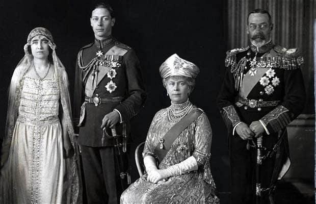 Свадьба Королевы Елизаветы и Георга VI