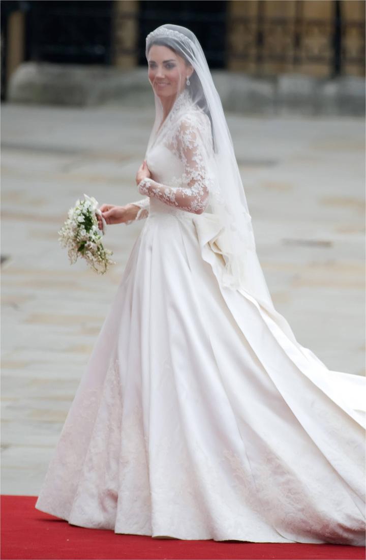 Кейт Миддлтон на своей свадьбе