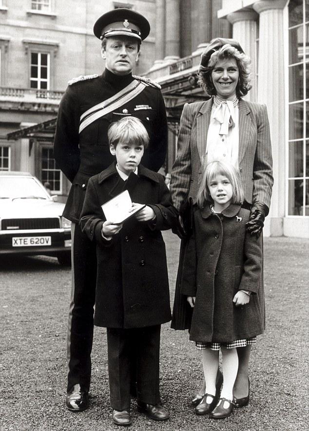 камилла и эндрю с детьми