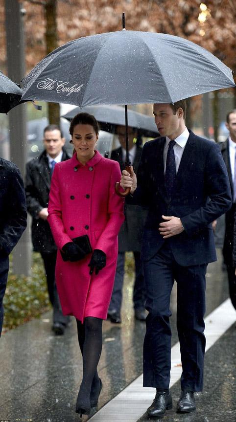 Кэтрин Миддлтон и принц Уильям в Нью-Йорке