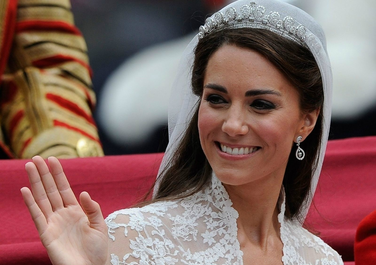 Кейт Миддлтон свадебный макияж