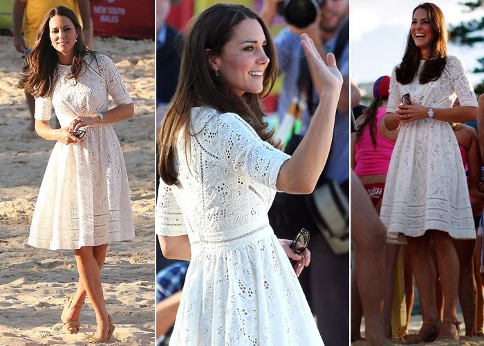 миддлтон кружевное платье Zimmermann австралия