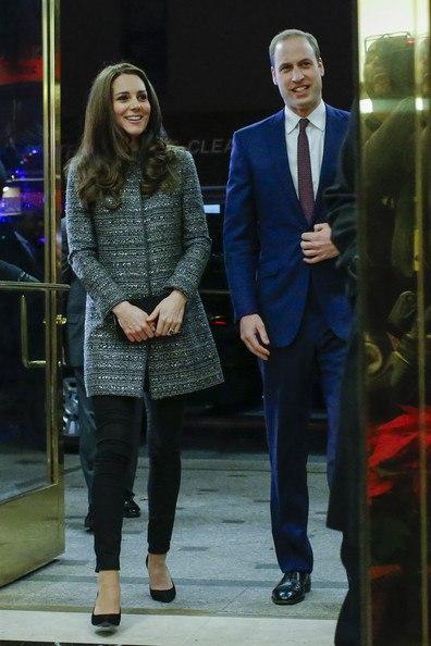 Кейт и Уильям в США