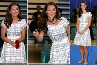 миддлтон платье в клетку от Hobbs австралия