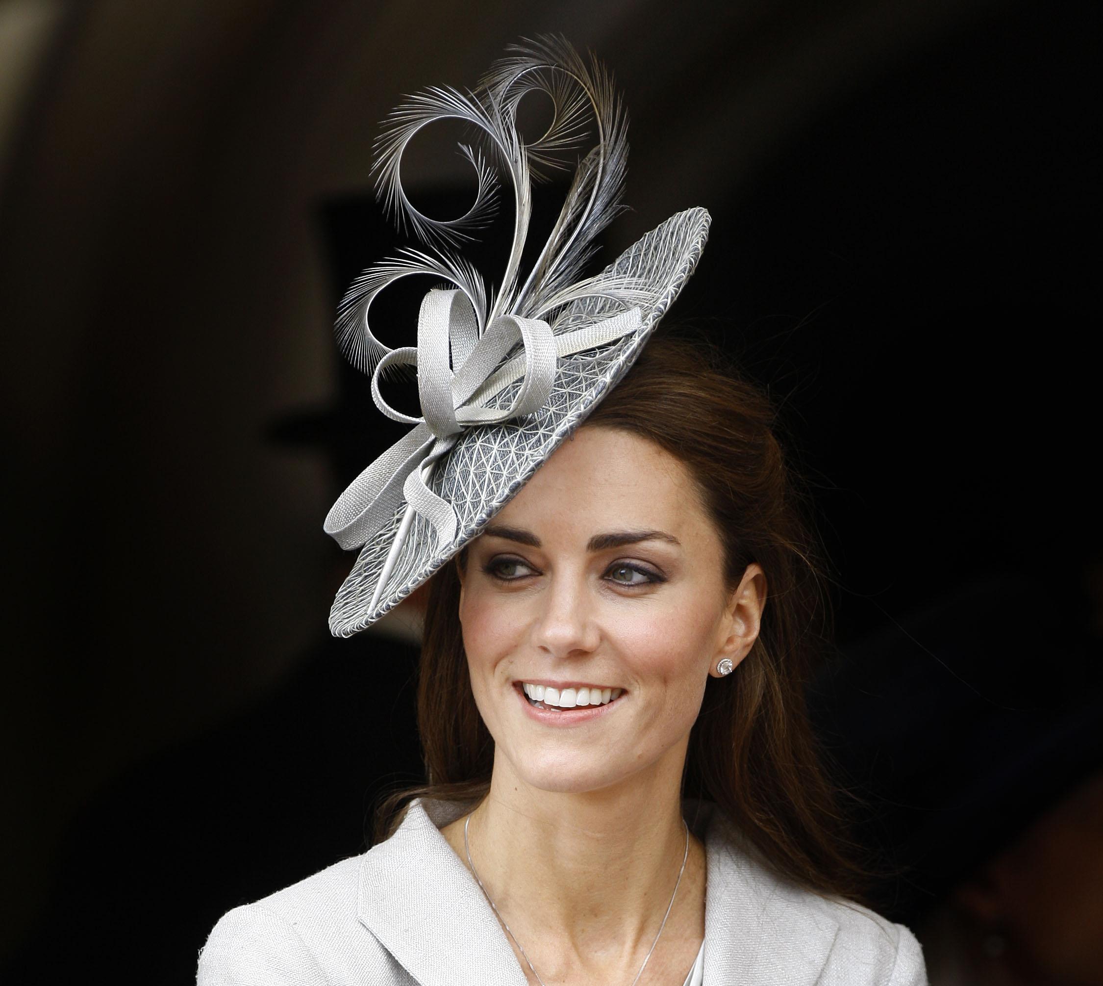 Кейт Миддлтон в шляпке