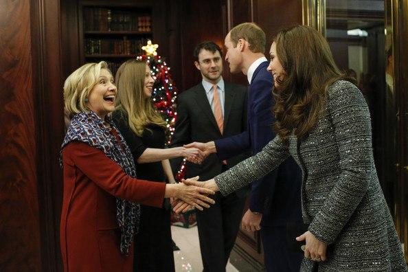Кейт Уильям Хиллари Клинтон