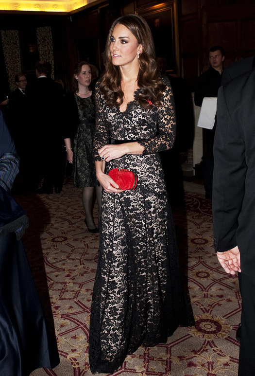 The Duke And Duchess Of Cambridge Attend A Dinner At Temple Inn