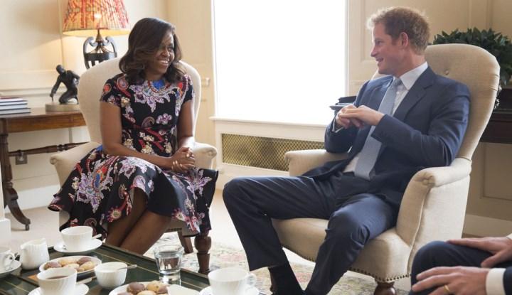Мишель Обама и принц Гарри