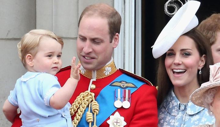принц Уильям и Джордж