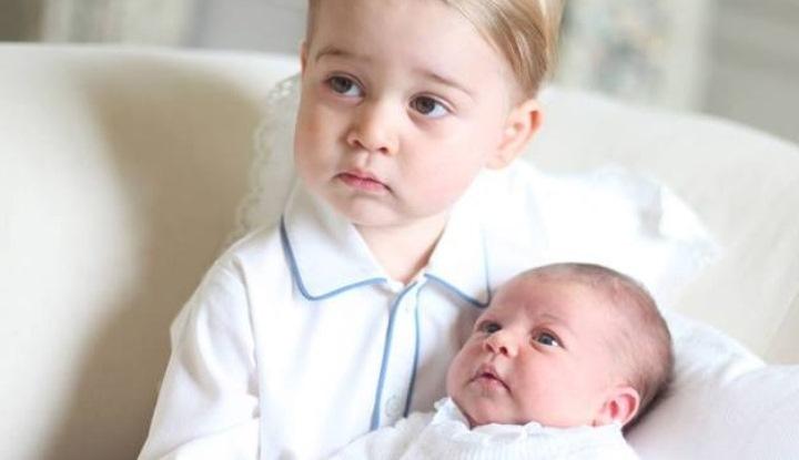 принц Джордж и Шарлотта