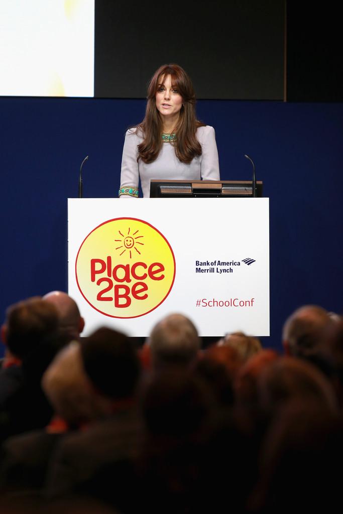 Герцогиня Кембриджская посетила конференцию «Headteacher Conference/Place2Be»