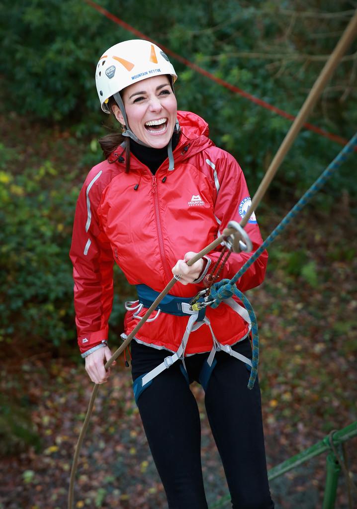 Кейт Миддлтон и принц Уильям посетили Уэльс
