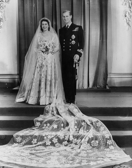 Годовщина свадьбы Елизаветы II