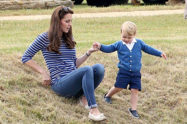 Кейт и принц Джордж