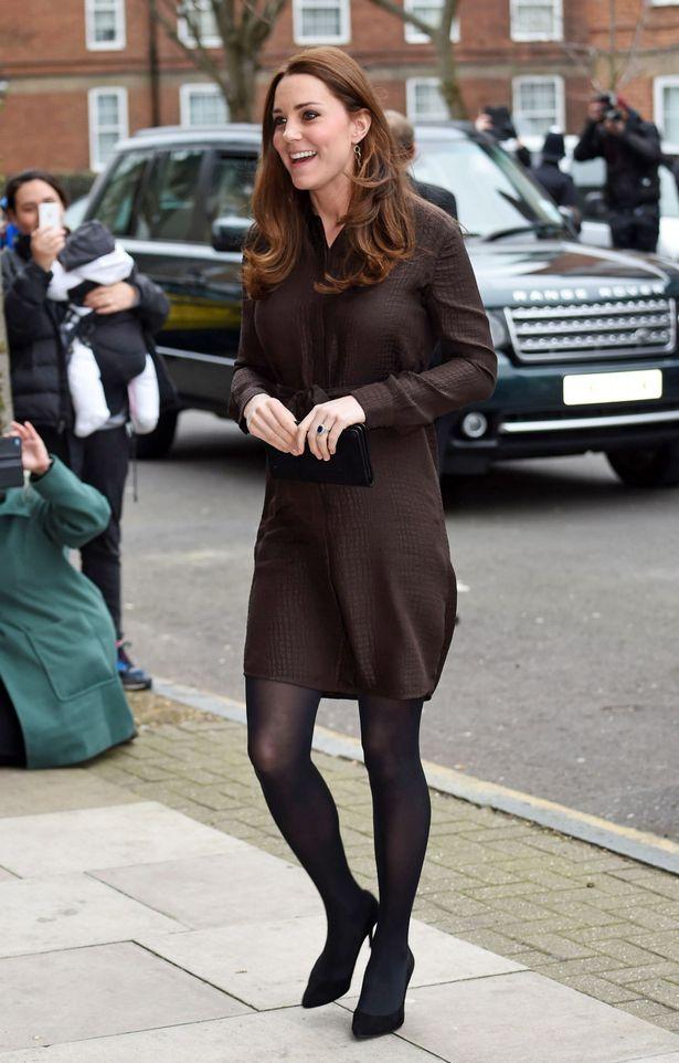 Кейт на благотворительном мероприятии