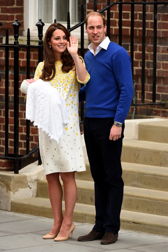 Kate Middleton Makes First PostBaby Appearance In Red
