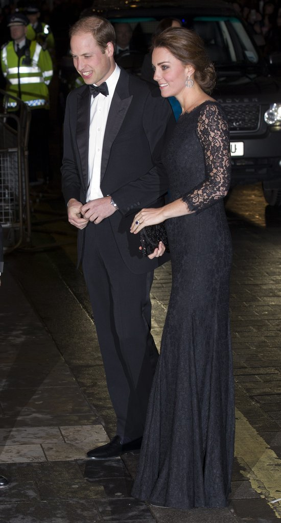 Black-Lace-Dress-Match-Prince-Williams-Black-Tie-Best