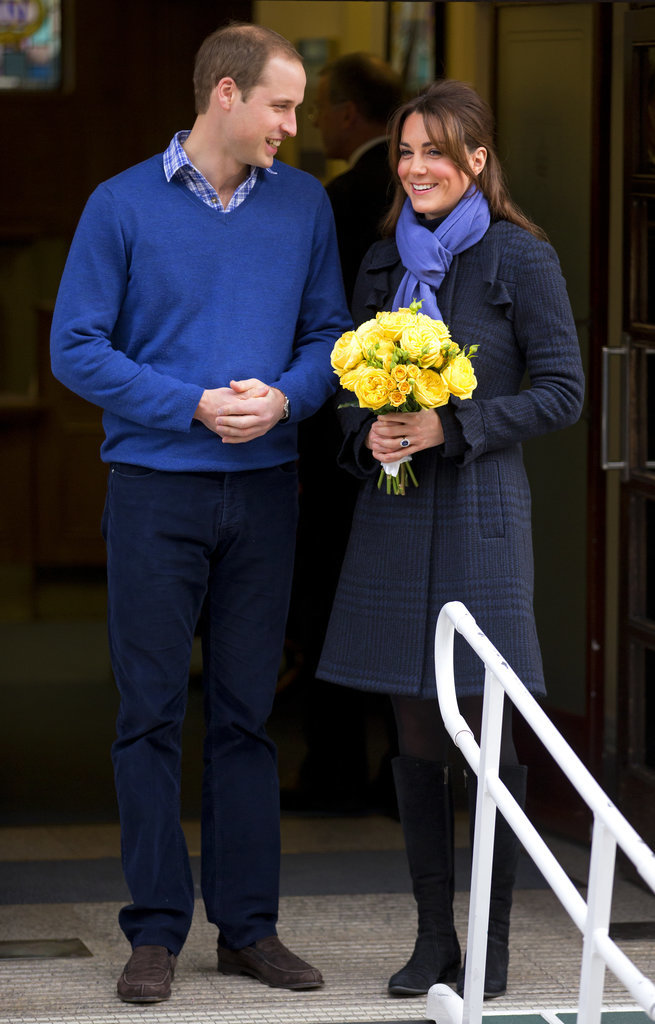Kate-Wore-Periwinkle-Scarf-Complement-Williams-Sweater