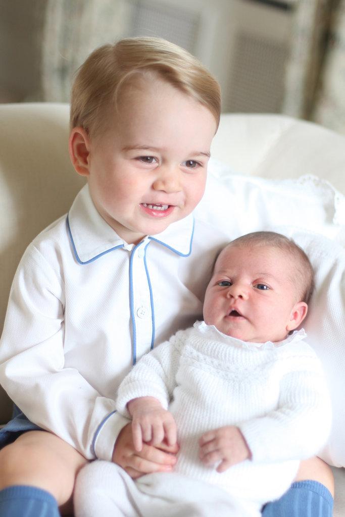 Portraits-Prince-George-Princess-Charlotte