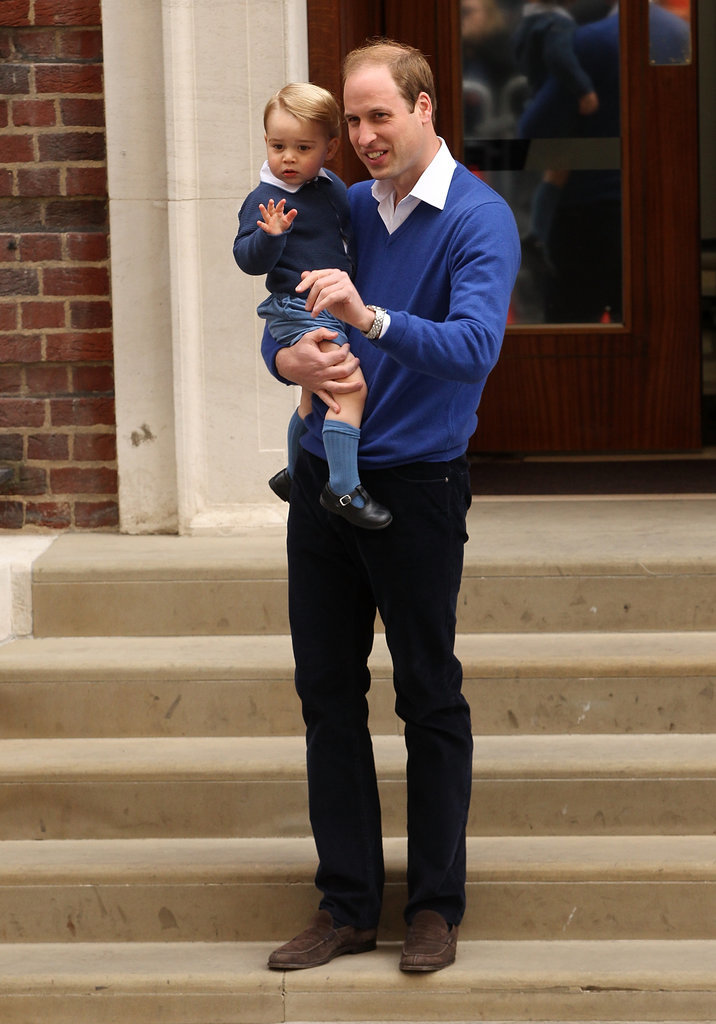 Prince-George-Meeting-His-Little-Sister-Hospital