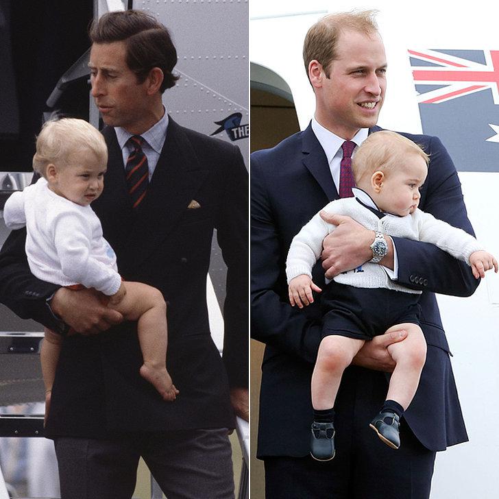 Prince-William-Prince-George-Childhood-Comparison