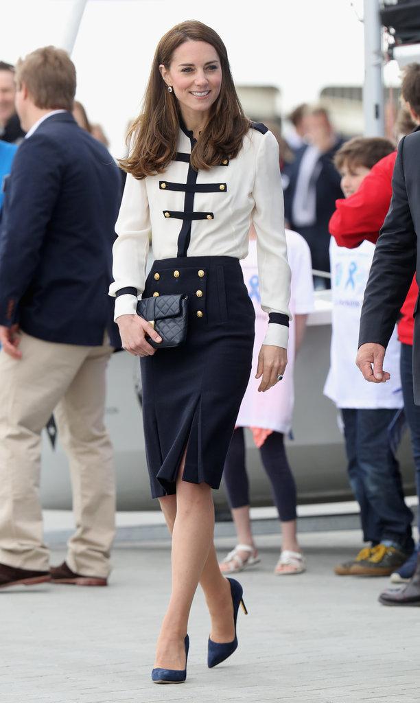 Kate-Middleton-Alexander-McQueen-Blouse-Skirt-May-2016