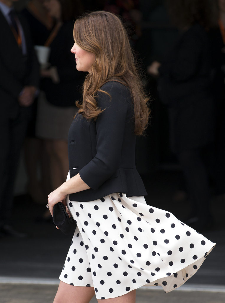 Back-April-2013-when-she-pregnant-Prince-George