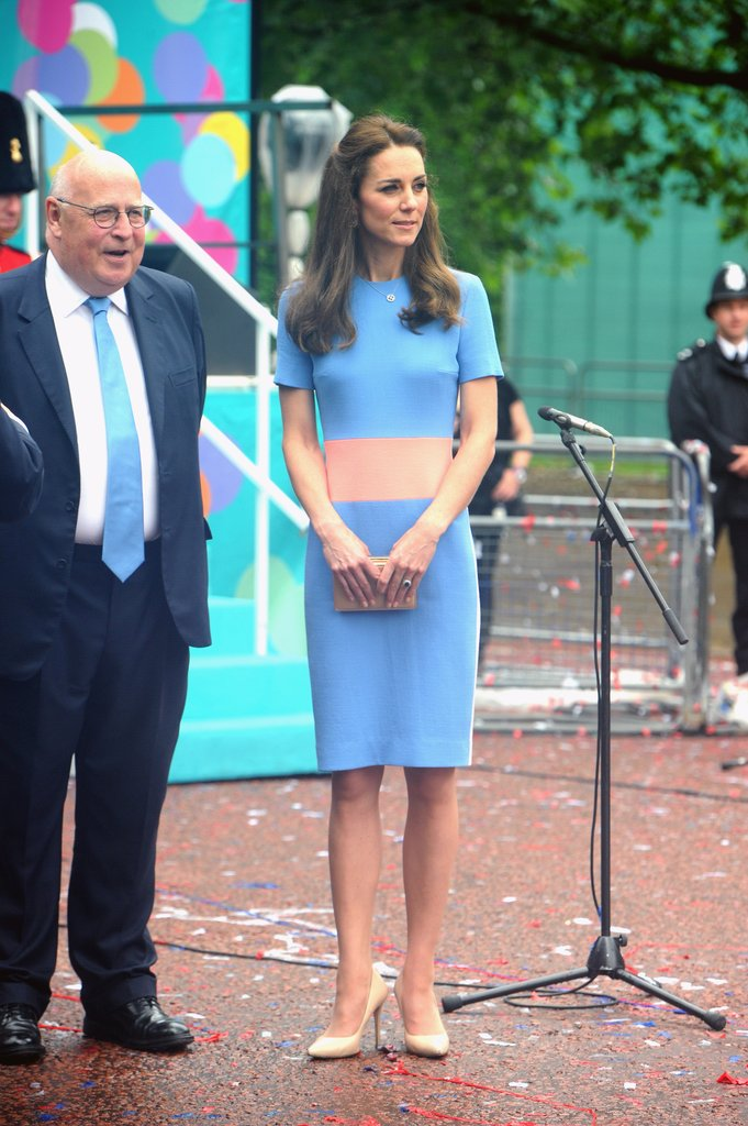 Kate-Wore-Colorblock-Dress-Patron-Lunch-Celebration-Showing-Us-Chic-Way-Embrace-Brighter-Hues1