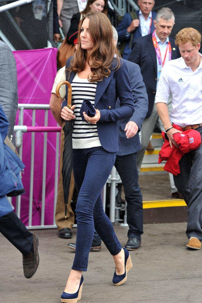 Kate-Wearing-Jeans-Heels-Olympic-Jumping-Event-2012
