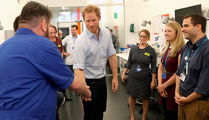 Принц Гарри прошел тест на ВИЧ