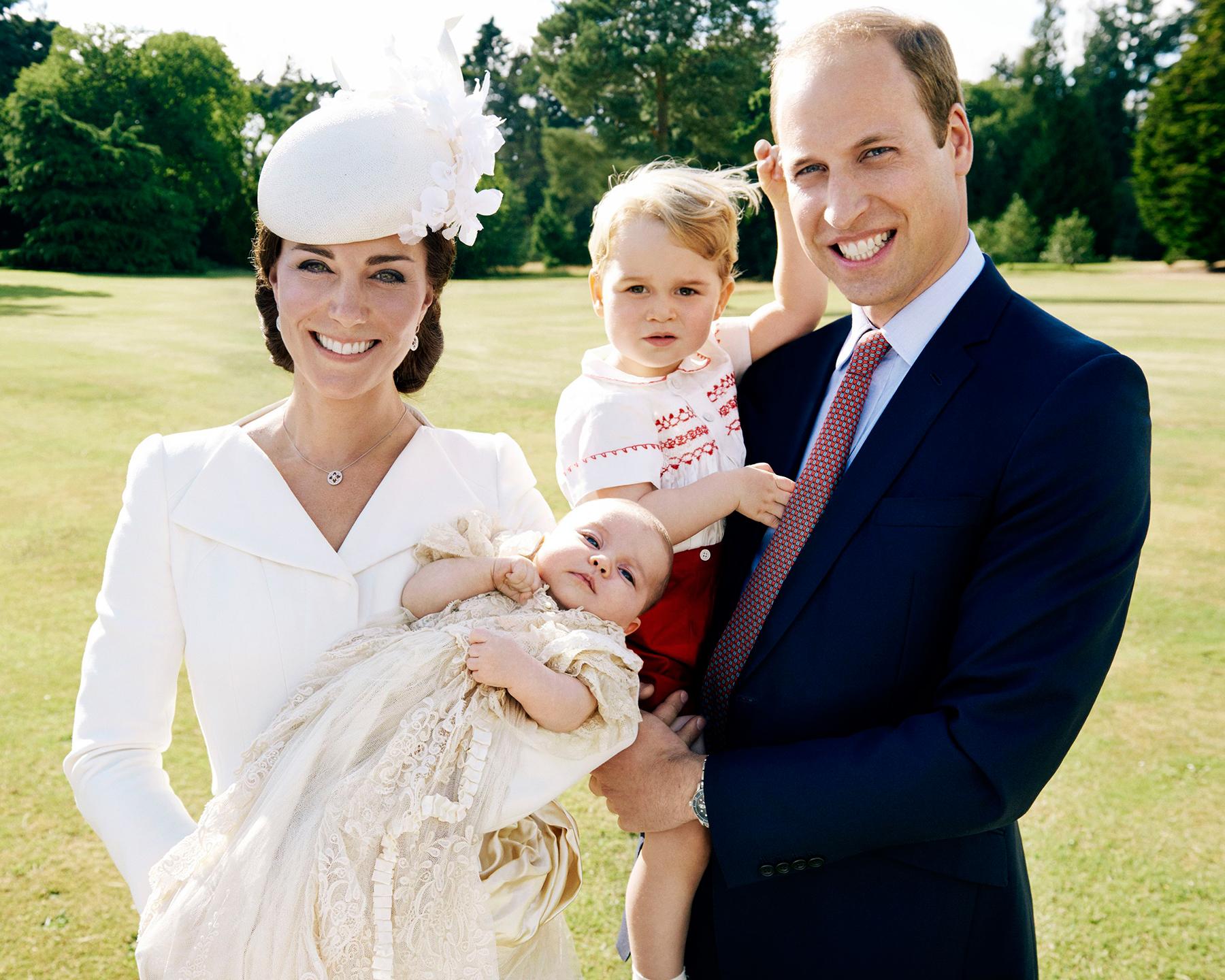 Джордж и Шарлота поедут в Канаду вместе с родителями