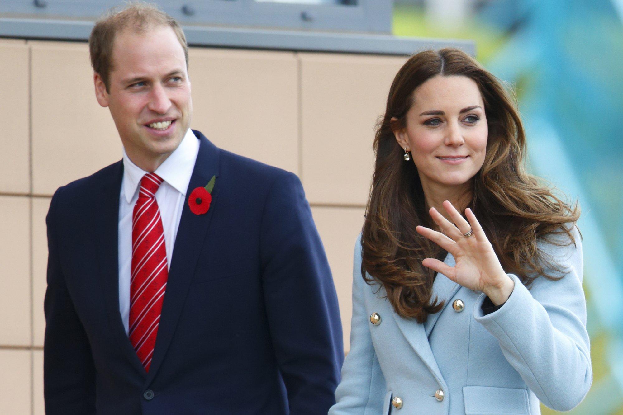 Принц Уильям и Кейт посетят Лютон