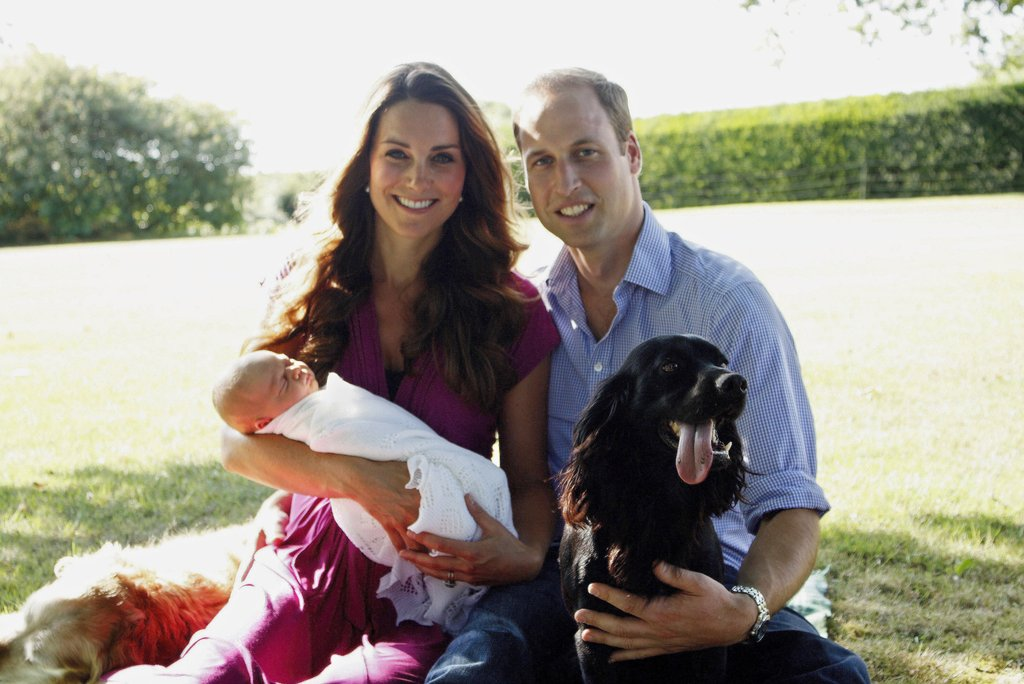Kate-William-George-took-one-first-family-photos