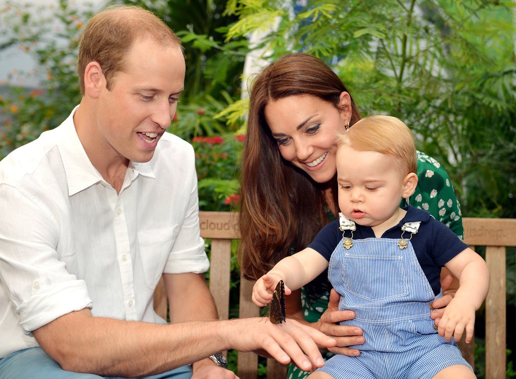 William-Kate-George-visited-butterfly-house-Natural