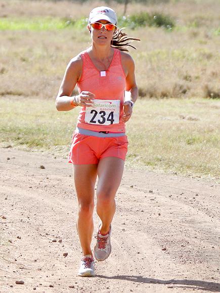 Пиппа на марафоне Safaricom