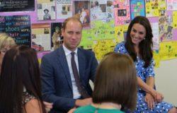 Кейт Мидлтон и принц Уильям посетили школу Stewards Academy