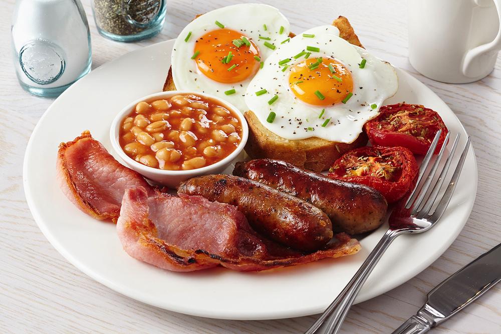 английский завтрак Уильям