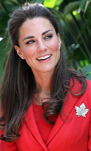 CALGARY, AB - JULY 08: Catherine, Duchess of Cambridge visits a reception at Calgary Zoo on July 8, 2011 in Calgary, Canada. The newly married Royal Couple are on the ninth day of their first joint overseas tour. The 12 day visit to North America is taking in some of the more remote areas of the country such as Prince Edward Island, Yellowknife and Calgary. The Royal couple started off their tour by joining millions of Canadians in taking part in Canada Day celebrations which mark Canada's 144th Birthday. (Photo by Chris Jackson - Pool/Getty Images)