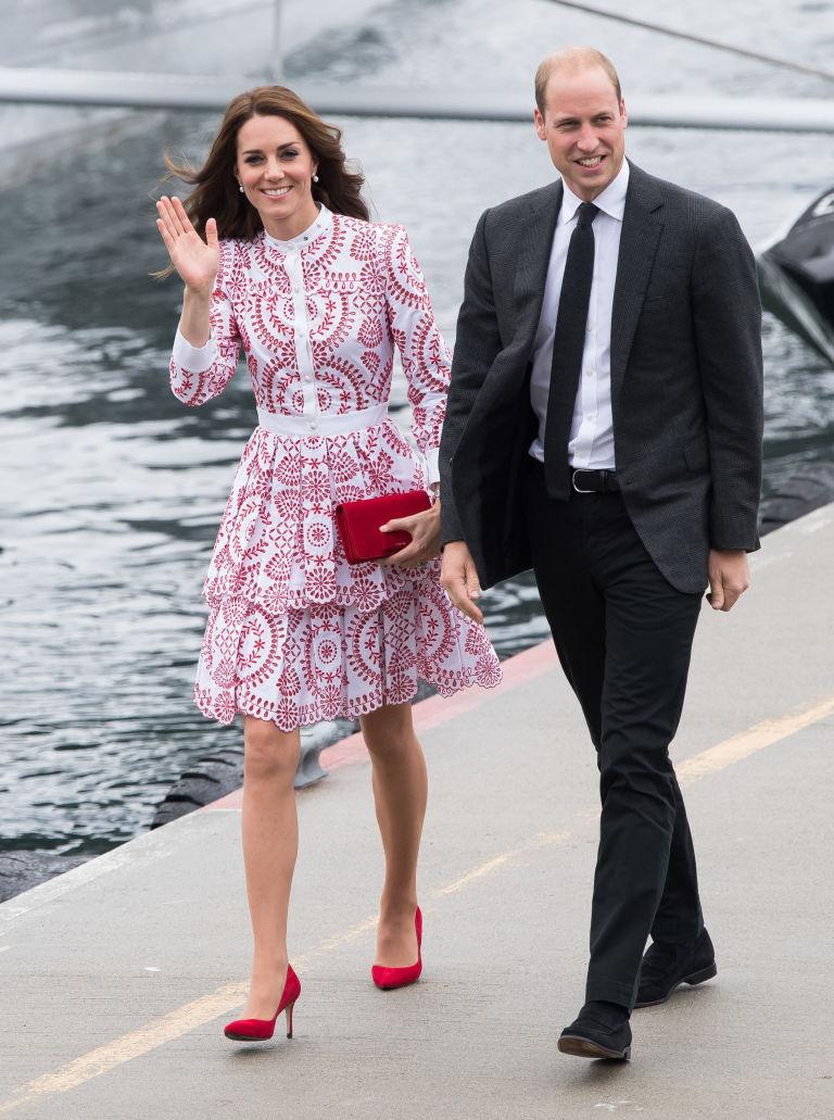 Пять самых дорогих нарядов герцогини Кембриджской в 2016 году